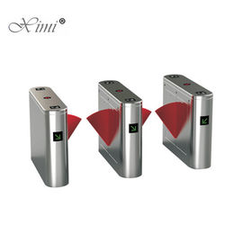 Biometric Fingerprint And Card Access Control System RFID Bridge Flap Turnstile Gate Barrier